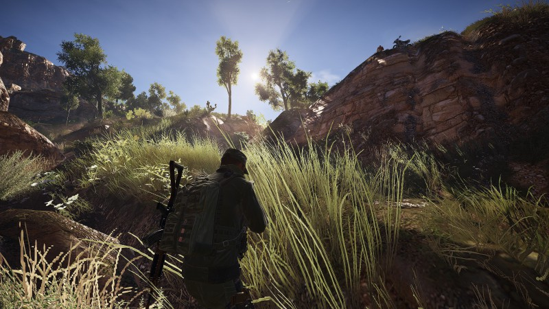 Wildlands God Ray Outside Enhanced