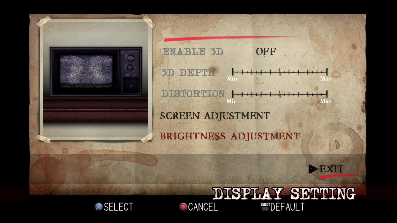 PS3 - brightness screen 2