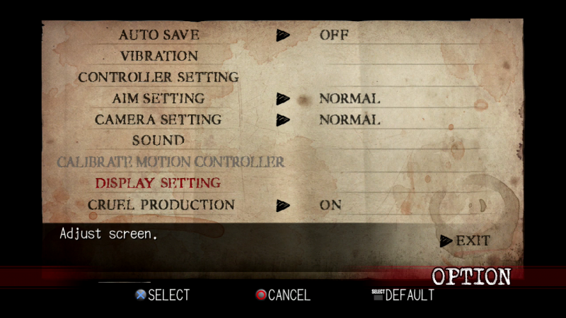 Deadly Premonition - brightness setting comparison (PC/PS3)