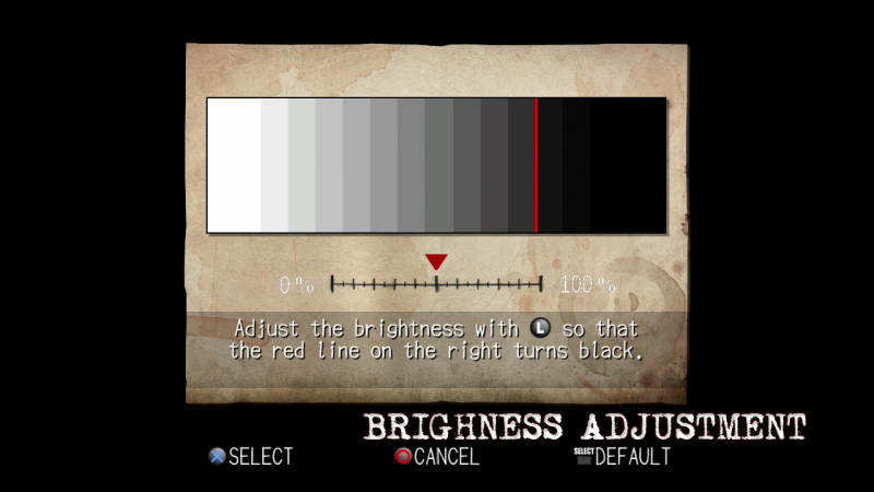 PS3 - brightness screen 3