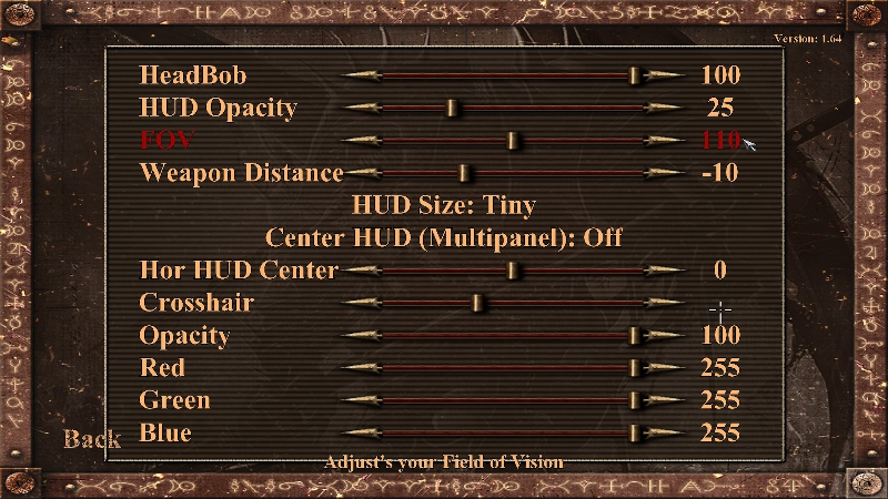 widescreen fix mod HUD menu