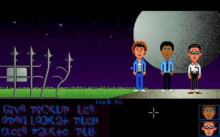 Maniac Mansion Deluxe resolution test