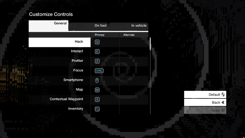 Keyboard Controls 2