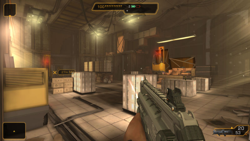 Deus Ex: The Fall FOV