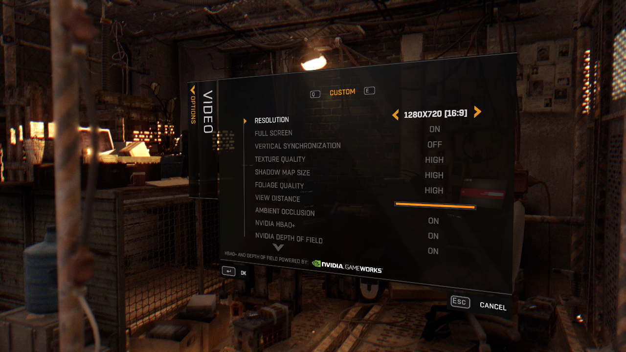DyingLight graphics settings