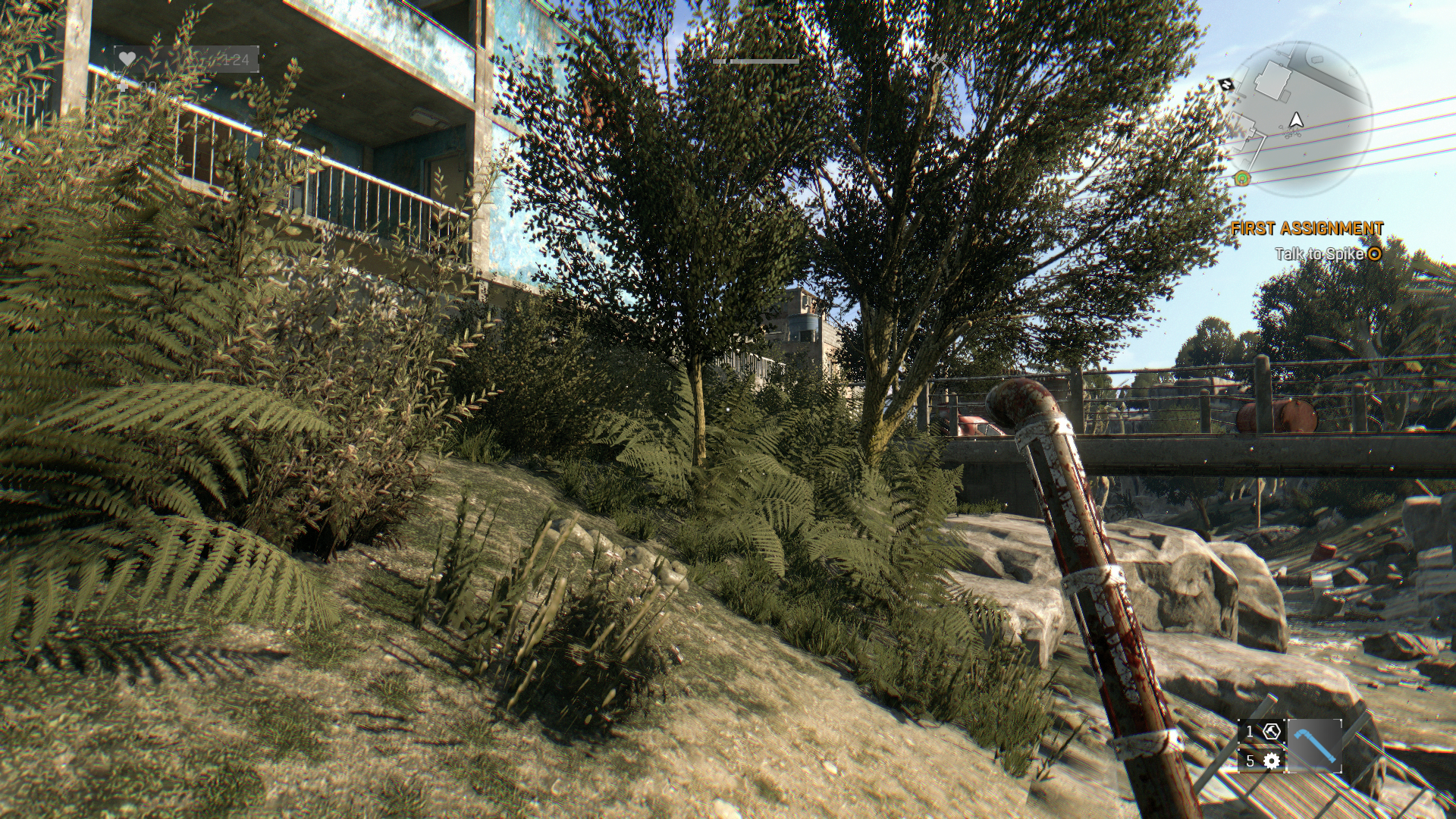DyingLight foliage high