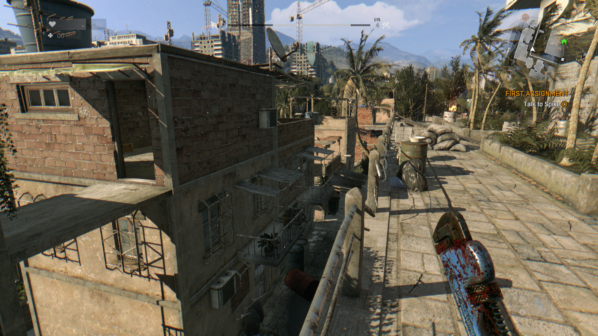 DyingLight shadows high