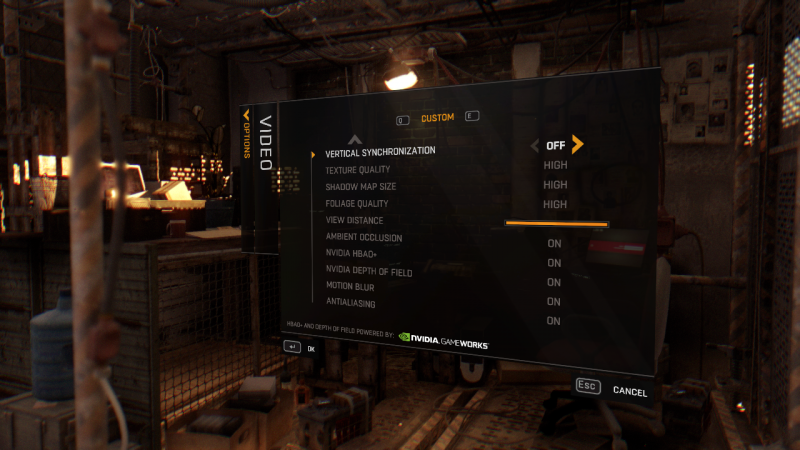 DyingLight graphics settings2