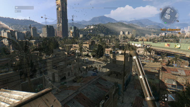 DyingLight view ultra