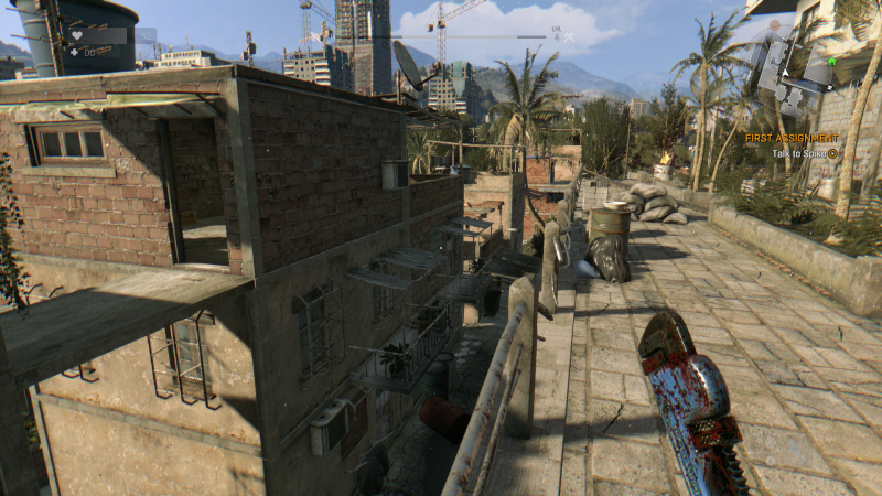 DyingLight shadows Low