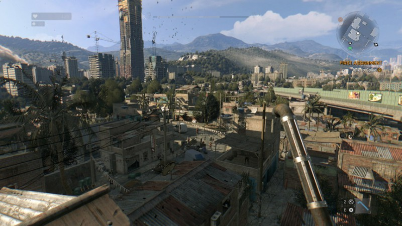 DyingLight view Min slider