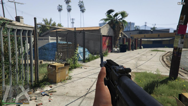 Grand Theft Auto V - FOV mod