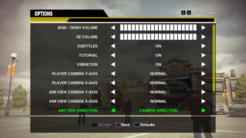 Audio And Camera Settings