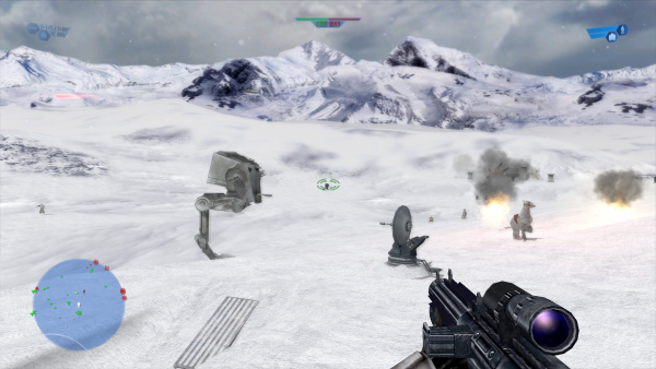 Battlefront 1.2 - Hoth #1